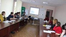 Voluntarii Centrului Contact-Cahul s-au întrunit, joi 11 aprilie, în sala de ședințe a organizației
