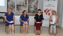 La data de 11 iulie, la Cahul, a fost organizată o simulare de dezbateri publice la care au participat patru dintre beneficiarele Academiei de Liderism Feminin