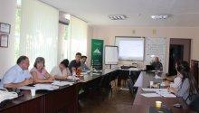 CRP Cahul într-o ședință de lucru