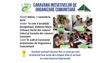 Caravana Inițiativelor de Organizare Comunitară