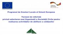 UE // Termeni de referință privind selectarea unei Organizații a Societății Civile pentru realizarea activităților de abilitare a cetățenilor