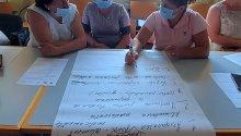 Ședința Grupurilor de Inițiativă Locală din Mănoilești și Ungheni pentru ajustarea strategiilor de dezvoltare a localității la dimensiunea de gen și dezvoltarea planurilor locale de promovare a egalității de gen