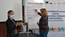 """Ședința nr. 3 de consultanță și suport pentru ajustarea Strategiilor de Dezvoltare a Localității la dimensiunea de gen în cadrul proiectului """"Parteneriate locale pentru abilitarea femeilor din raioanele Cahul și Ungheni"""""""